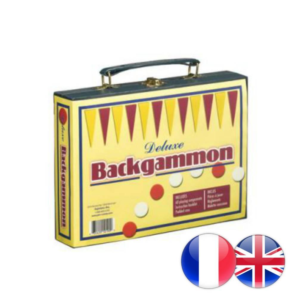 Gestion Sejenna Backgammon de voyage