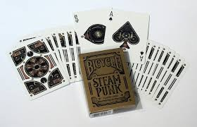 Bicycle Bicycle Deck Steampunk Playing Cards