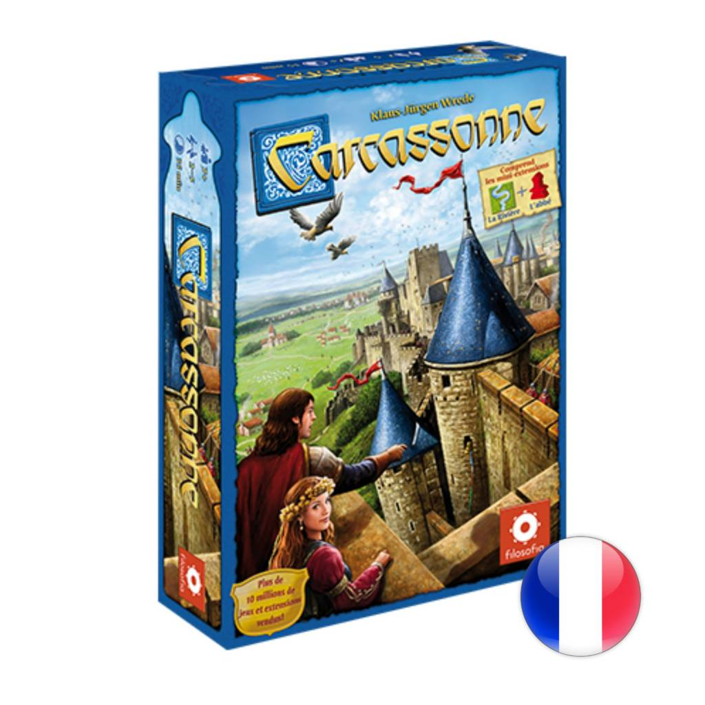 Z-Man Carcassonne 2.0 VF