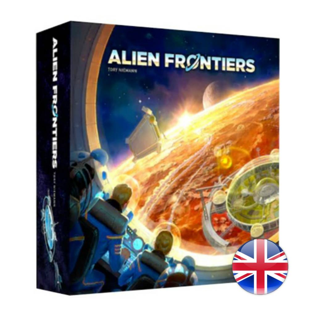 Game salute Alien Frontiers 5th Edition