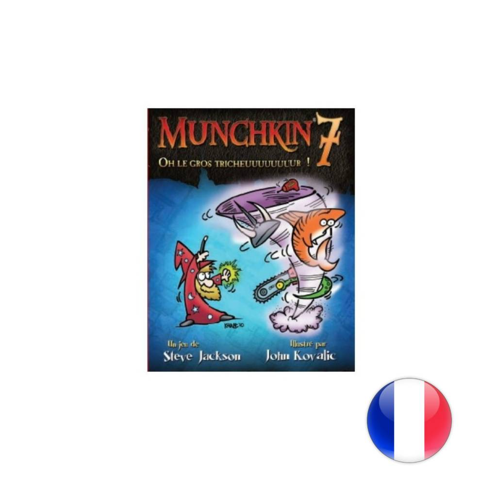 Steve Jackson Games Munchkin 7: Oh le gros tricheuuuuuuuuur