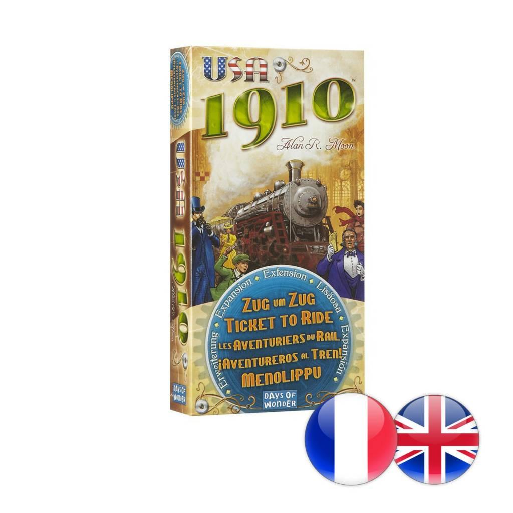 Days of Wonder Ticket to Ride : Exp. USA 1910 (multi)
