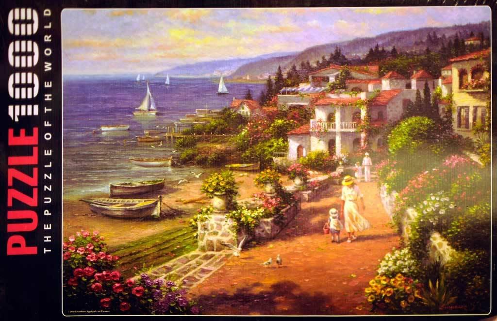 Anatolian Puzzle 1000:  Coastal  Tranquility Anatolian
