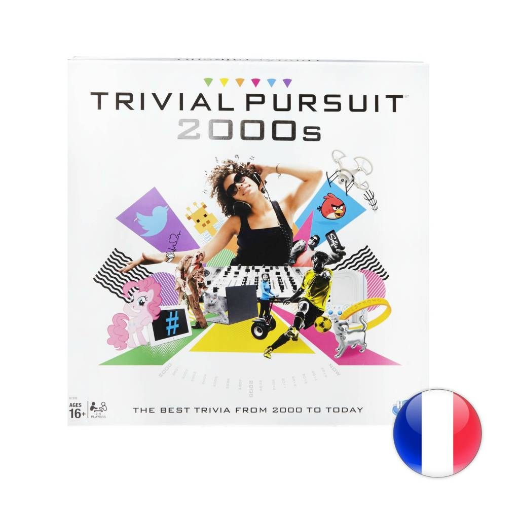 Hasbro Games Trivial Pursuit version 2000's VF