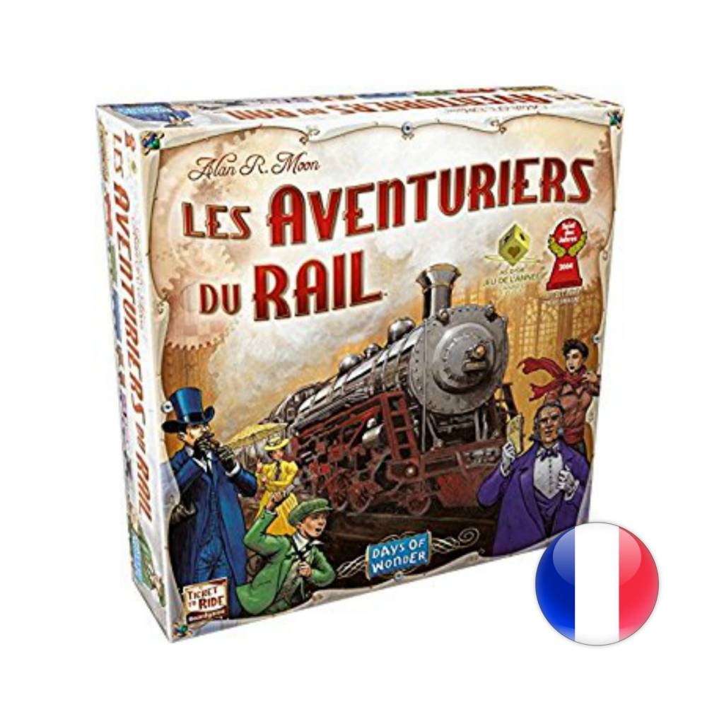 Days of Wonder Les Aventuriers du rail