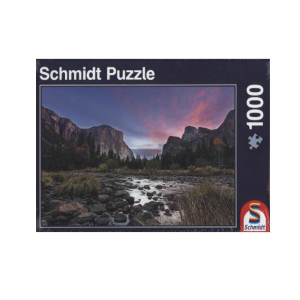 Schmidt Puzzle 1000:  Mountain Peace Schmidt
