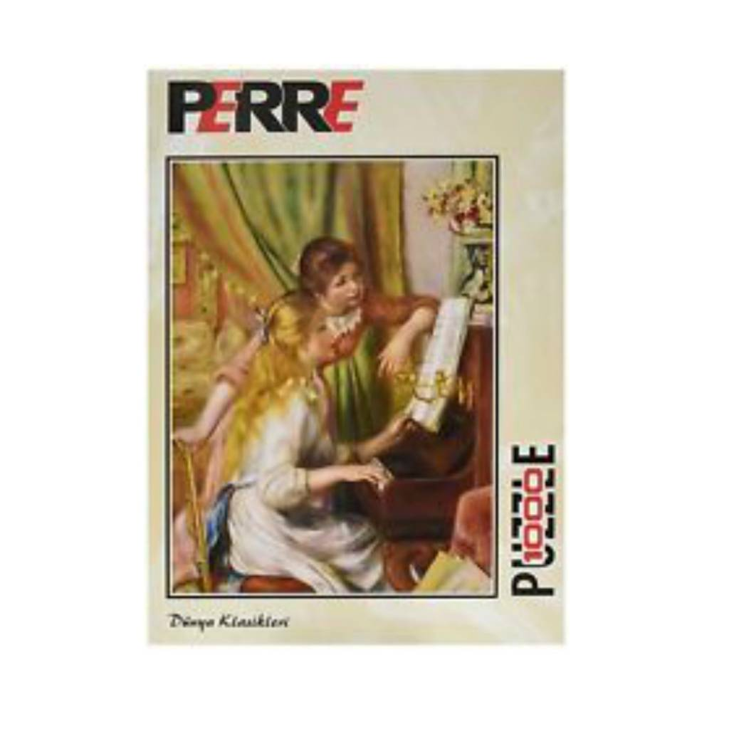 Schmidt Puzzle 1000:  Young Girls At  Piano Perre
