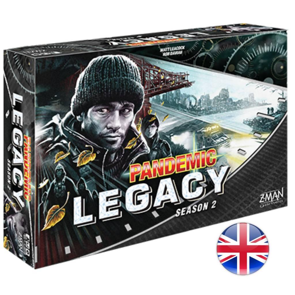 Z-Man Pandemic Legacy (Black Edition) Season 2