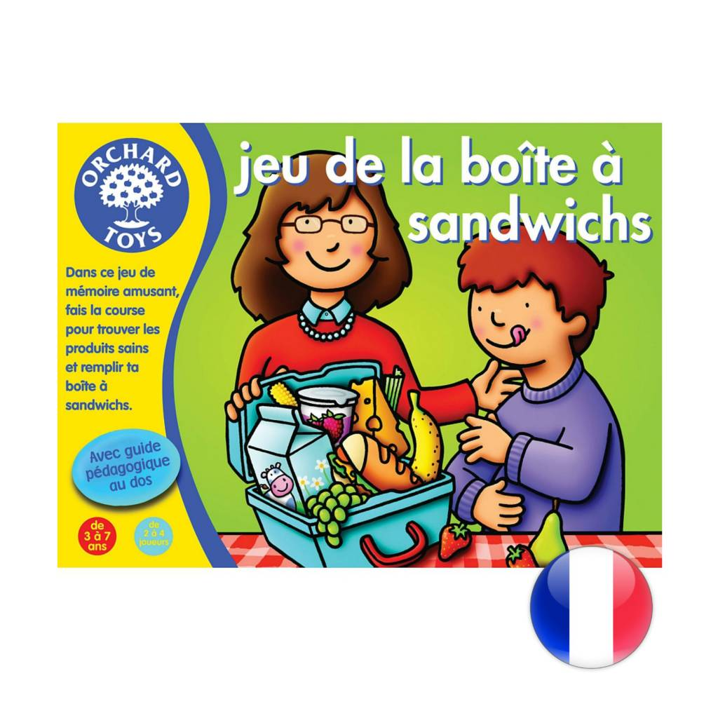 Orchard Toys Jeu de la boîte à sandwichs