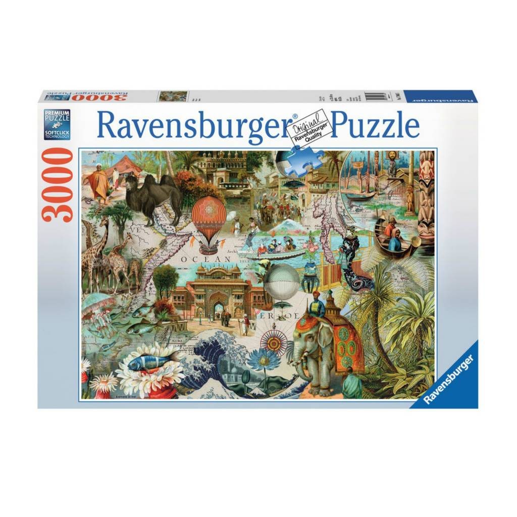 Ravensburger Puzzle 3000: Océanie