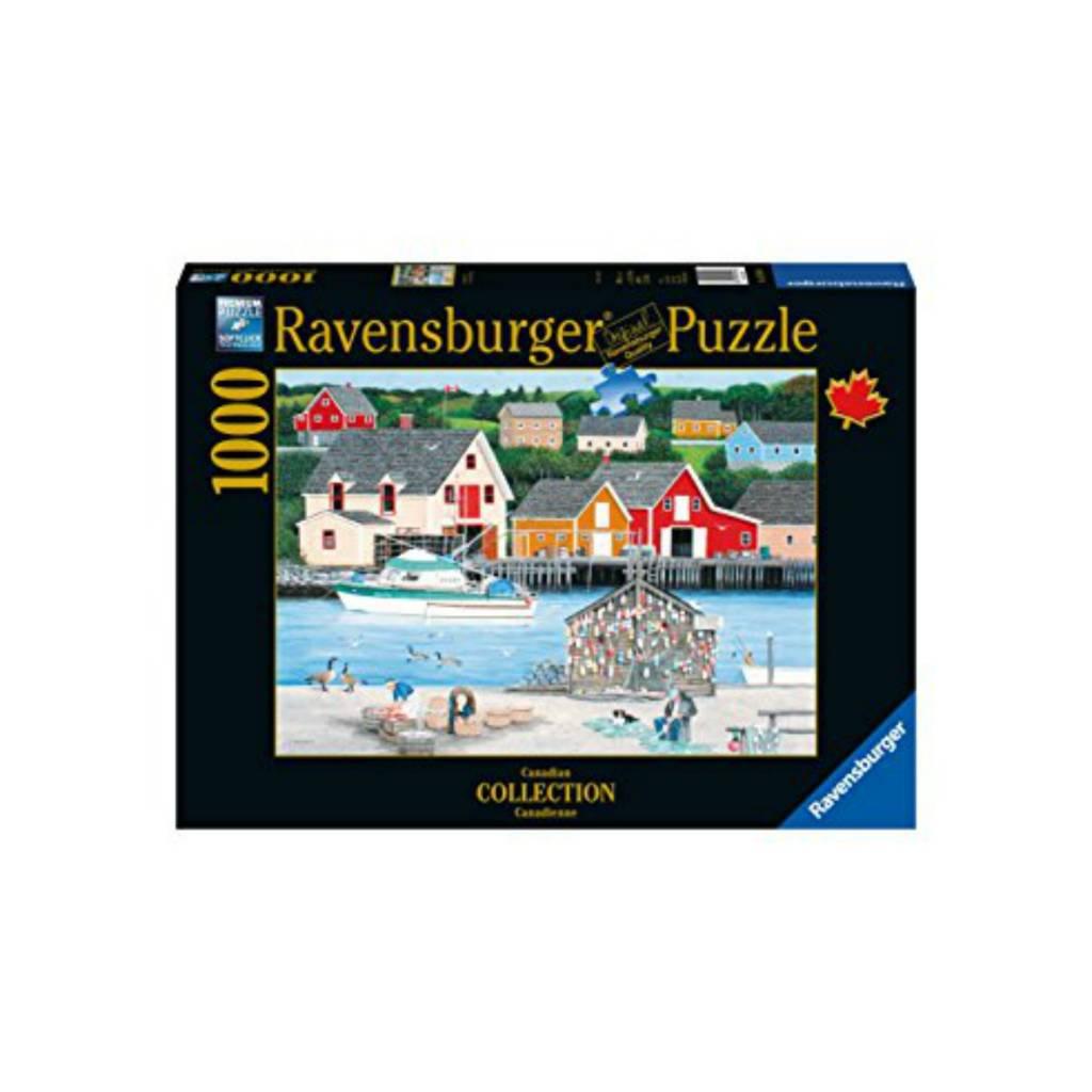 Ravensburger Puzzle 1000: La Crique du pêcheur