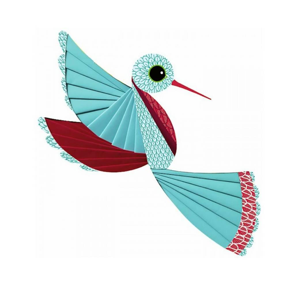 Djeco Plissé papier / Oiseau