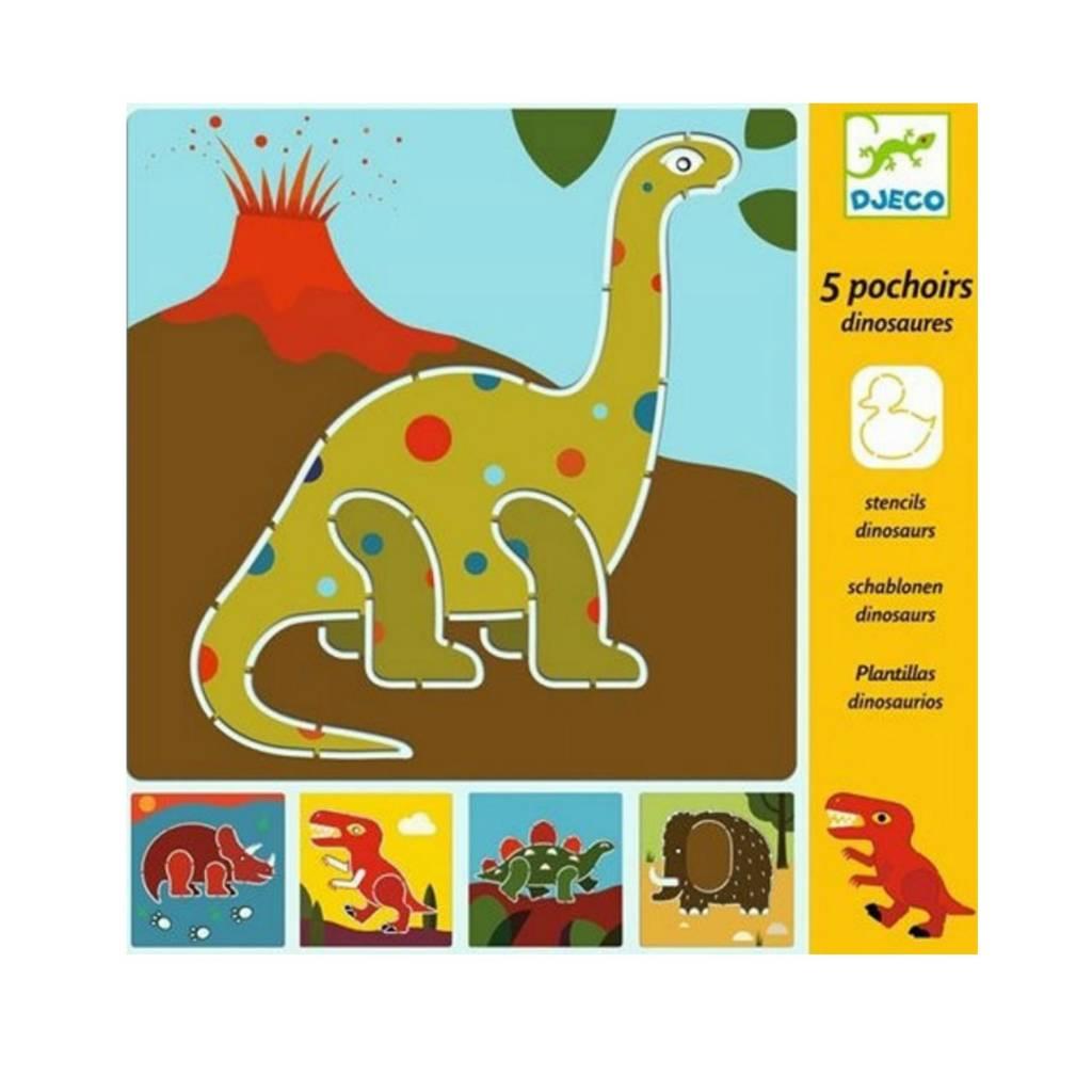Djeco Pochoirs / Dinosaures