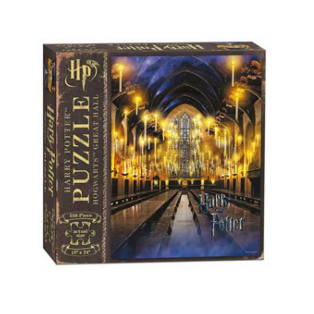 USAopoly Puzzle 550: Harry Potter Great Hall