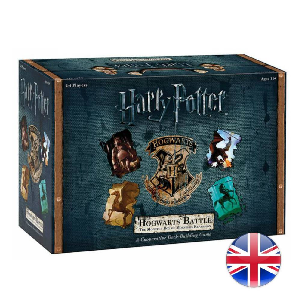 USAopoly Harry Potter Hogwarts Battle Monster Box Expansion