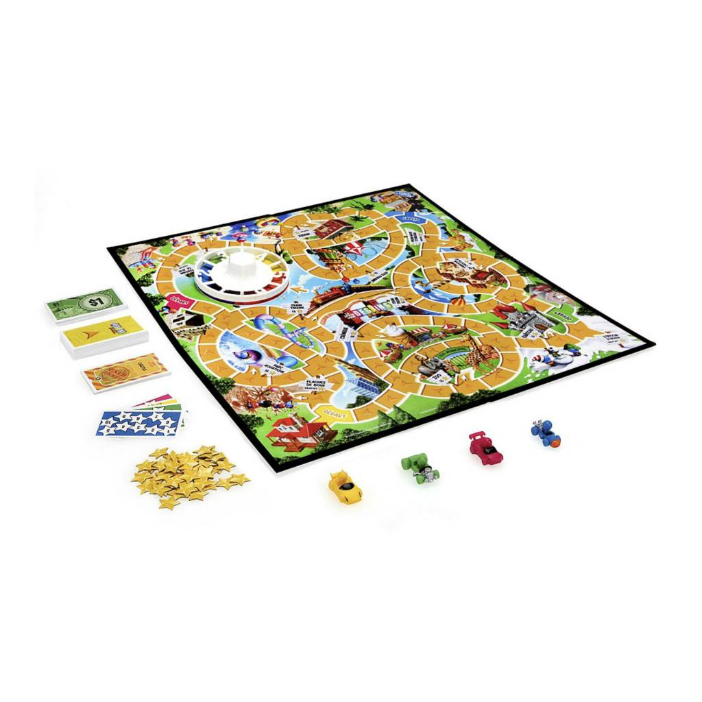 Hasbro Games Destins - Le jeu de la vie Version junior