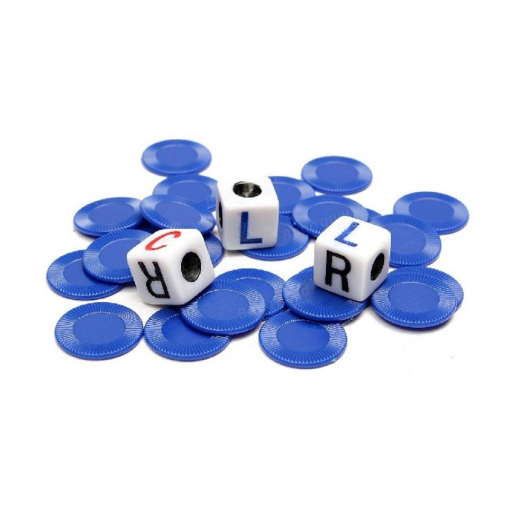 George & Company LLC LCR Left Center Right Dice Game Tin