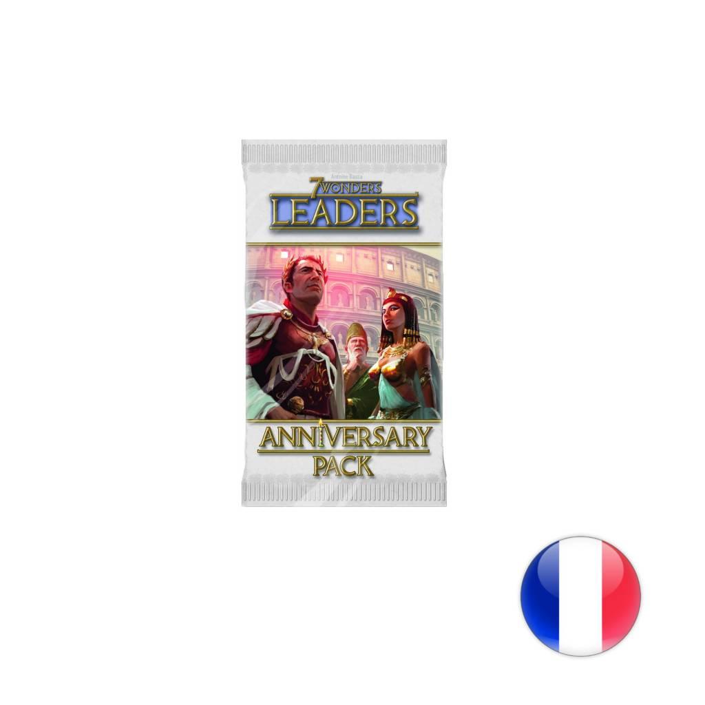 Asmodee 7 Wonders Anniversary Pack Leaders Français