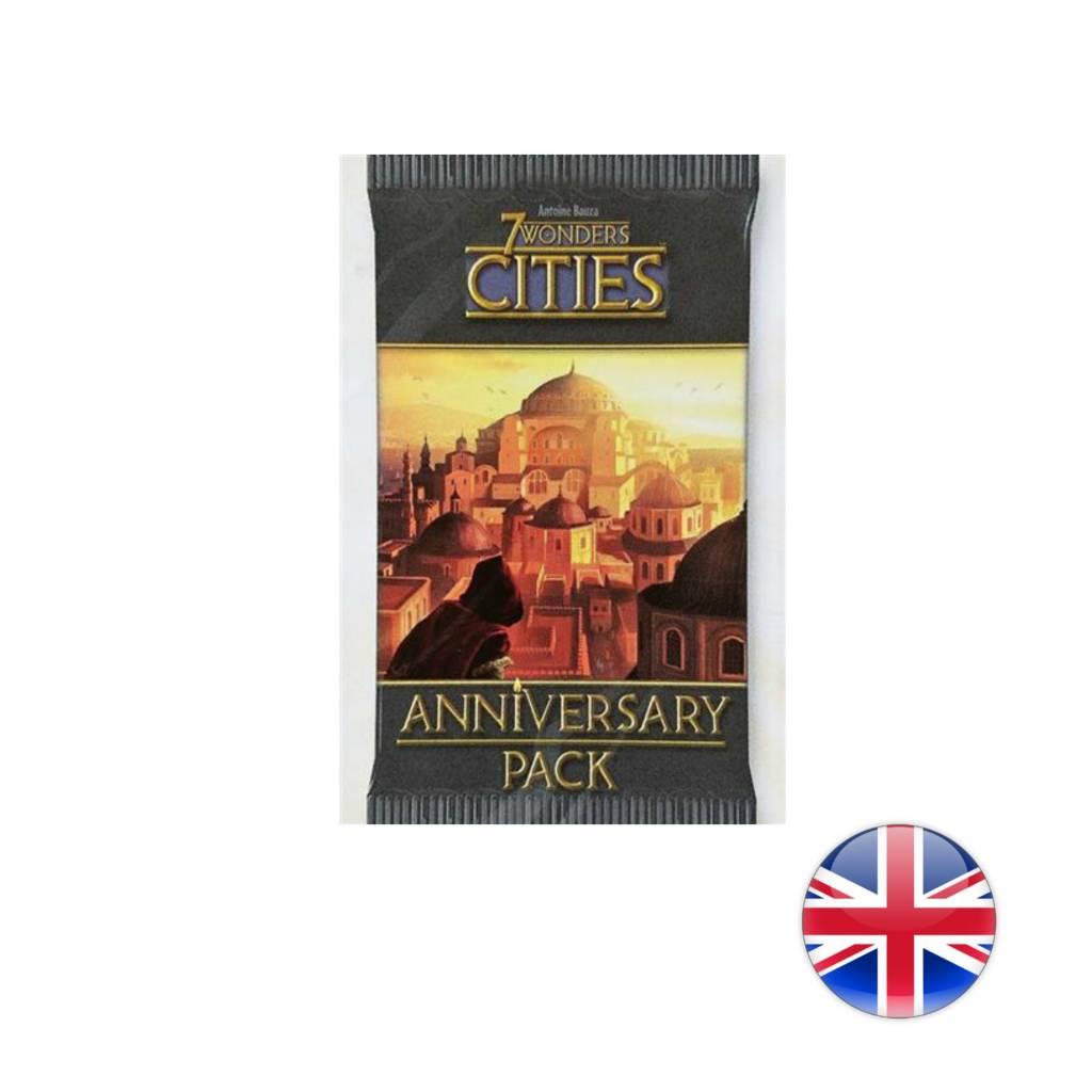 Asmodee 7 Wonders Anniversary Pack Cities English