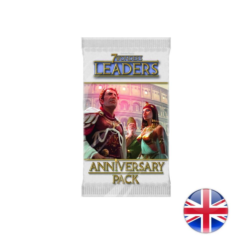 Asmodee 7 Wonders Anniversary Pack Leaders English