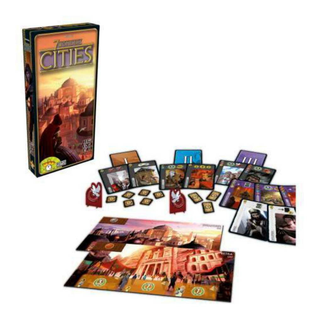 Repos Production 7 Wonders Ext. CITIES VF