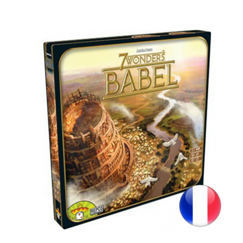 Asmodee 7 Wonders Babel VF