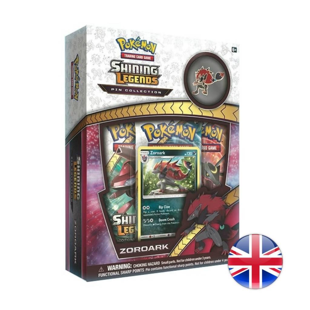 Pokemon Company Pokémon Shining Legends Pin Box Zoroark