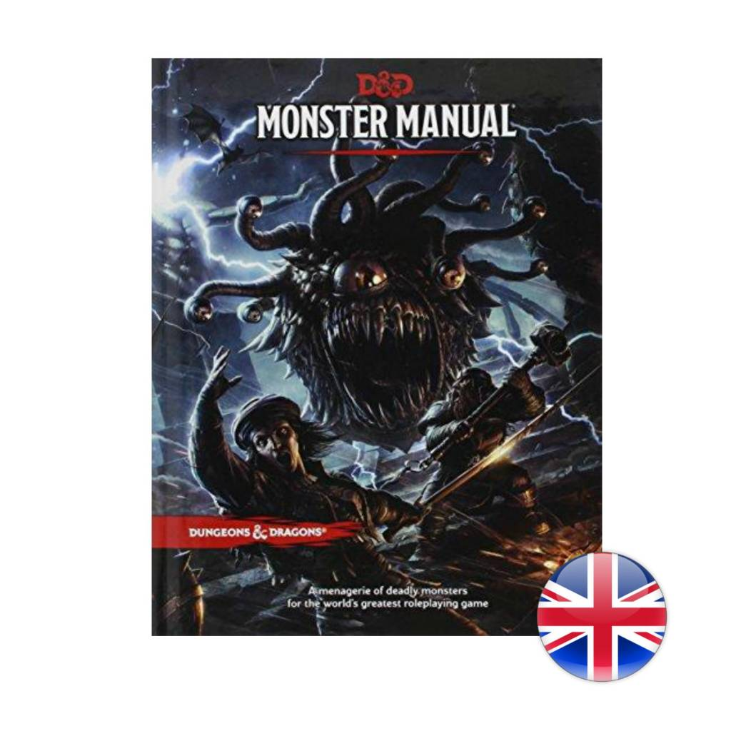 Wizards of the Coast D&D Dungeons & Dragons: Monster Manual
