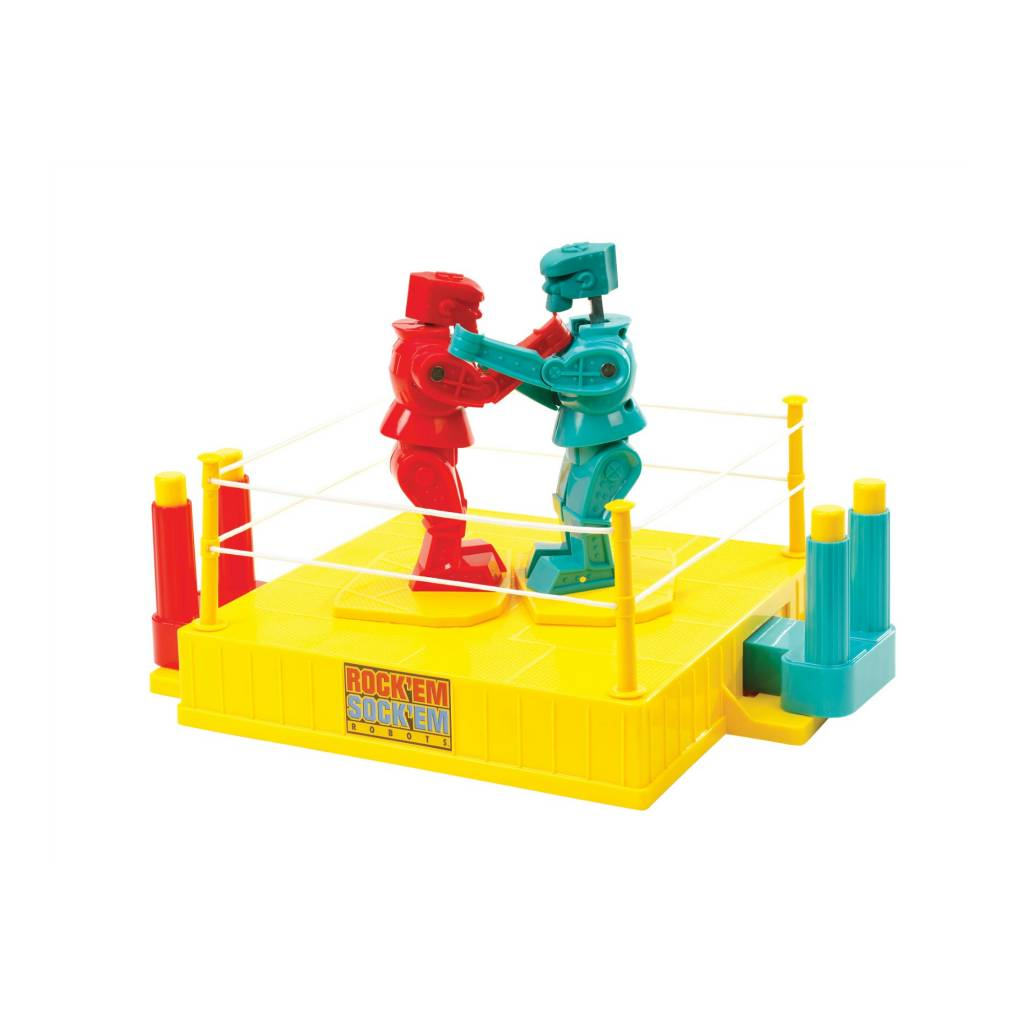 Mattel Inc. Rock Em  Sock Em robots Game