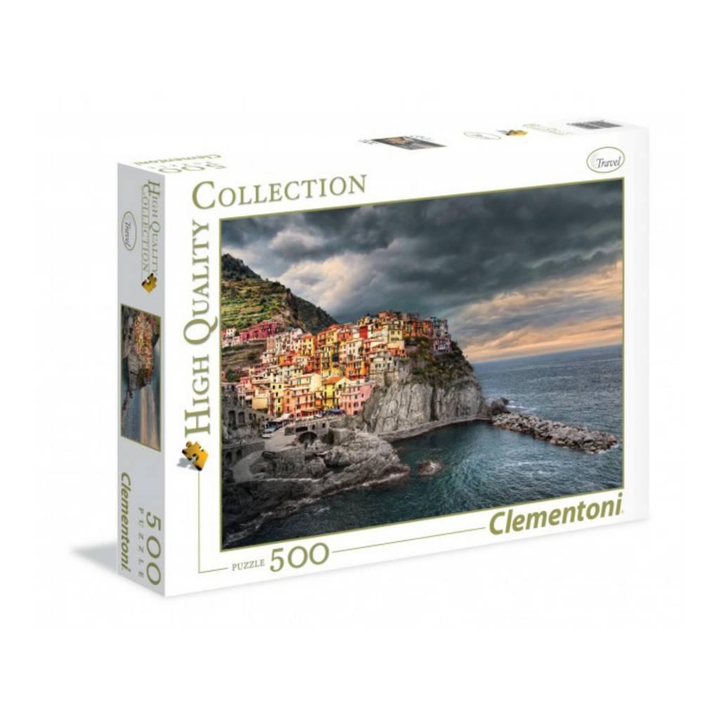 Clementoni Puzzle 500:  Manarola, Italie Clementoni