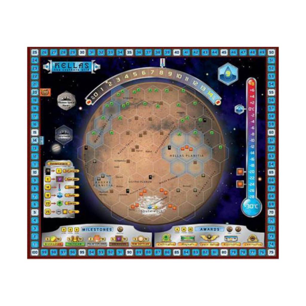 Intrafin Games Terraforming Mars Extension : Hellas et Elysium (VF)