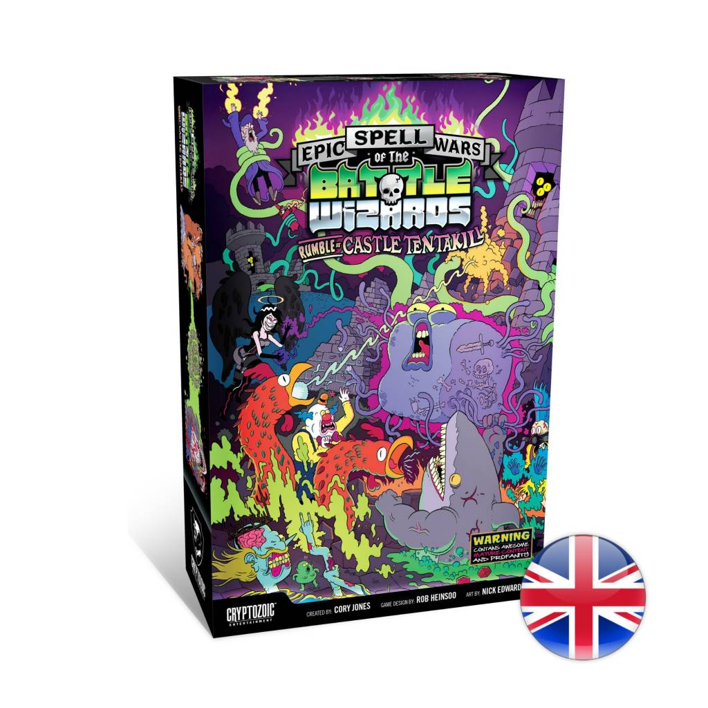 Cryptozoic Epic Spell Wars of the Battle Wizards Rumble at Castle Tentakill