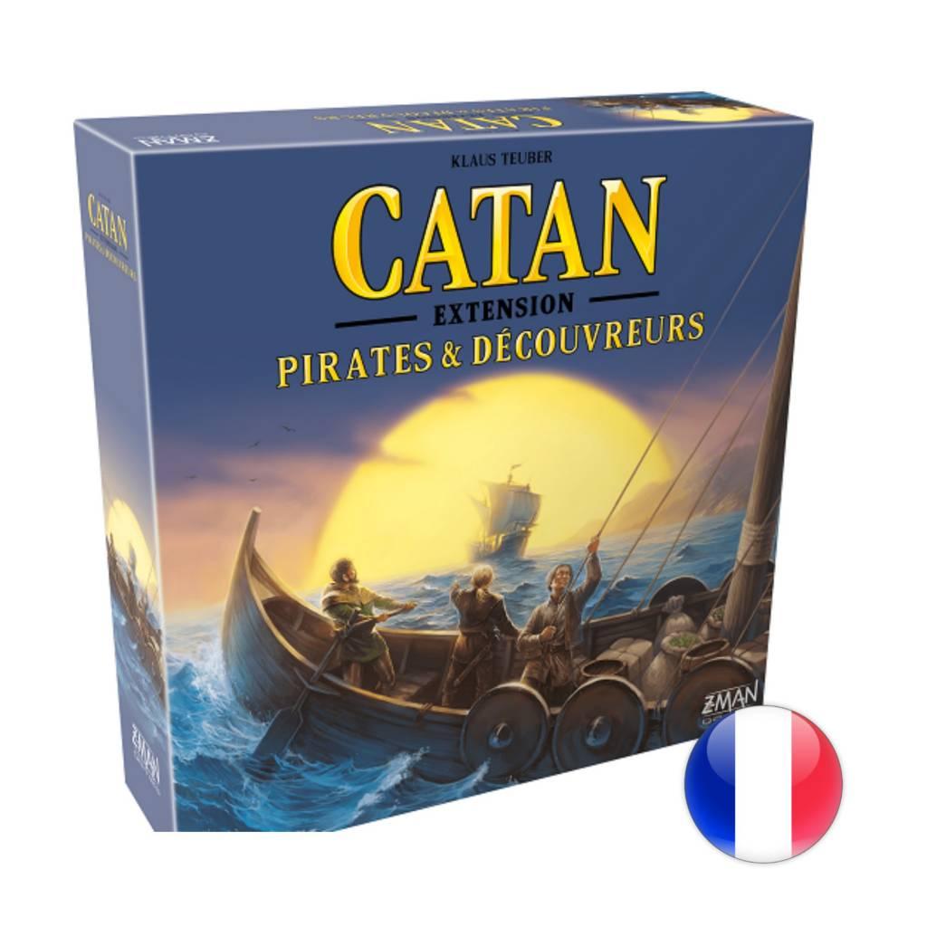 Filosofia Catan EXT - Pirates et découvreurs
