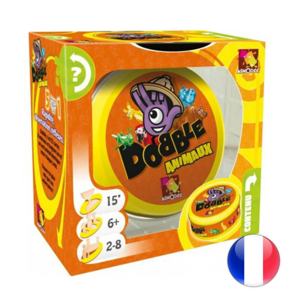 Asmodee Dobble Animaux
