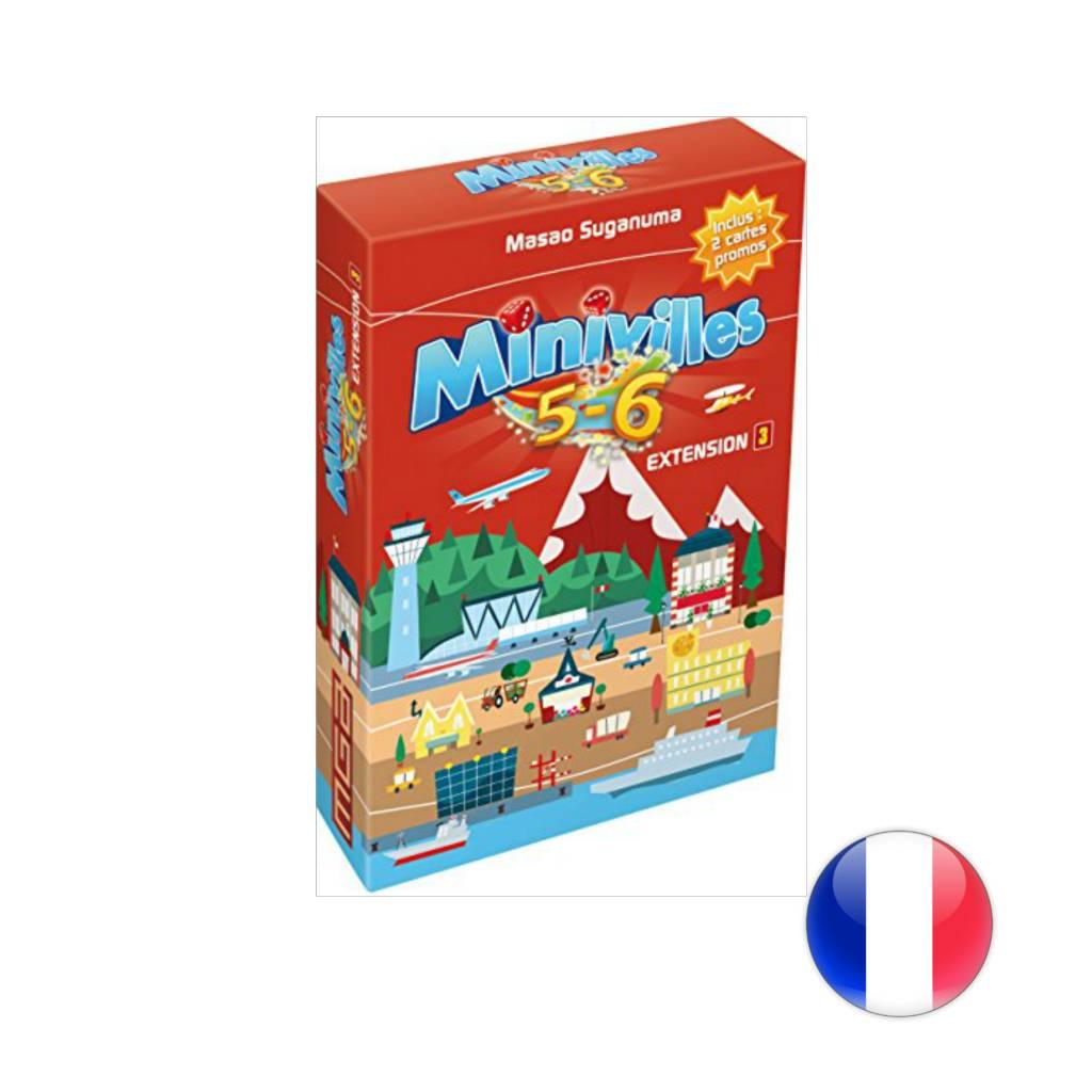 Asmodee Minivilles 5-6 joueurs
