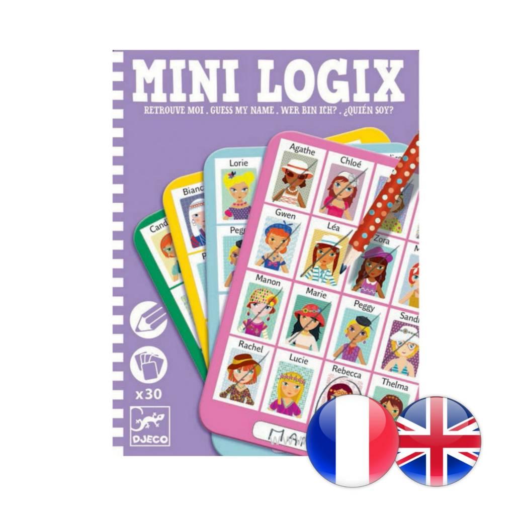 Djeco Mini Logix / Retrouve moi Julie