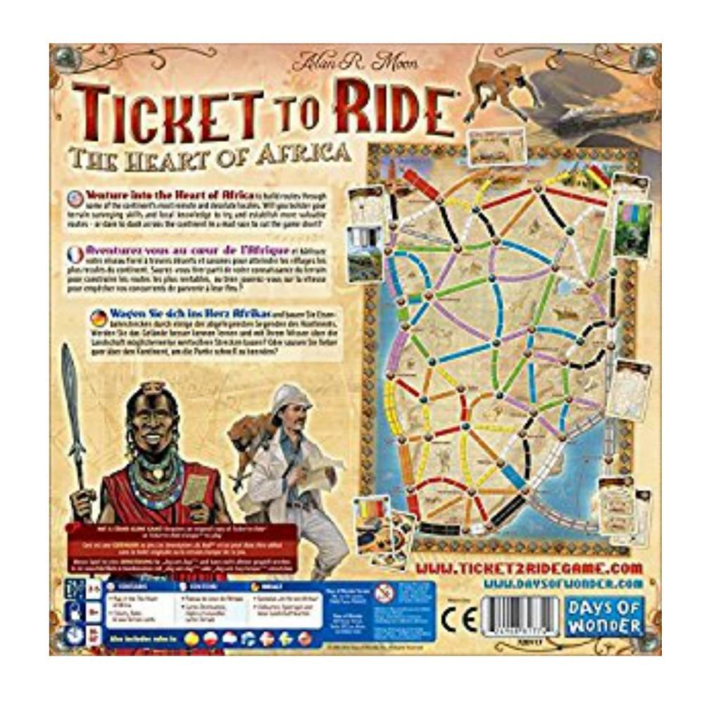 Days of Wonder Ticket to Ride : Map #3 - Africa (multi)
