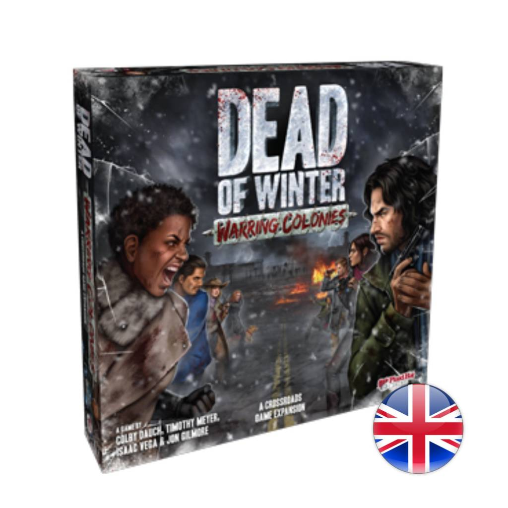 Plaid Hat Games Dead of Winter - Exp. Warring Colonies