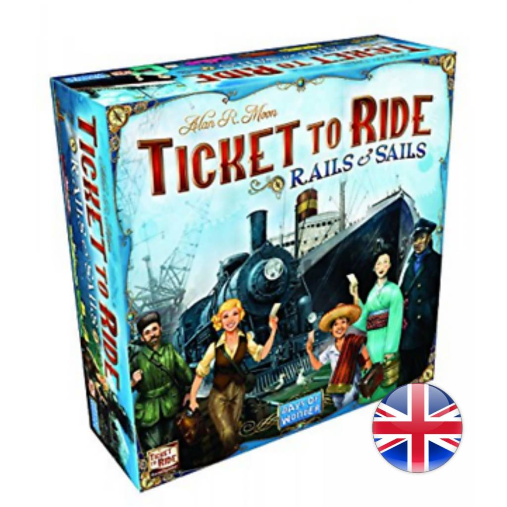 Days of Wonder Ticket To Ride : Rails And Sails