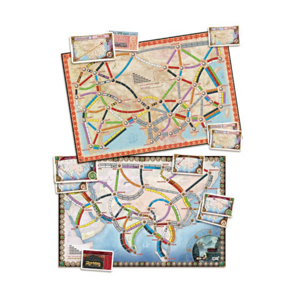 Days of Wonder Ticket to Ride : Map #1 - Asia (multi)