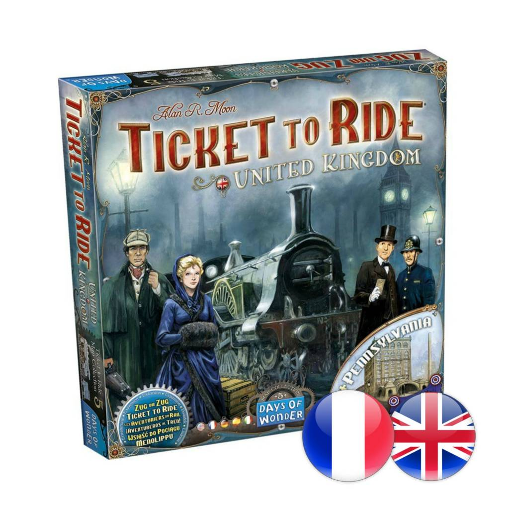 Days of Wonder Ticket to Ride : Map #5 - United Kingdom (multi)