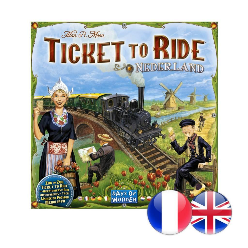 Days of Wonder Ticket to Ride : Map #4 - Nederland (multi)