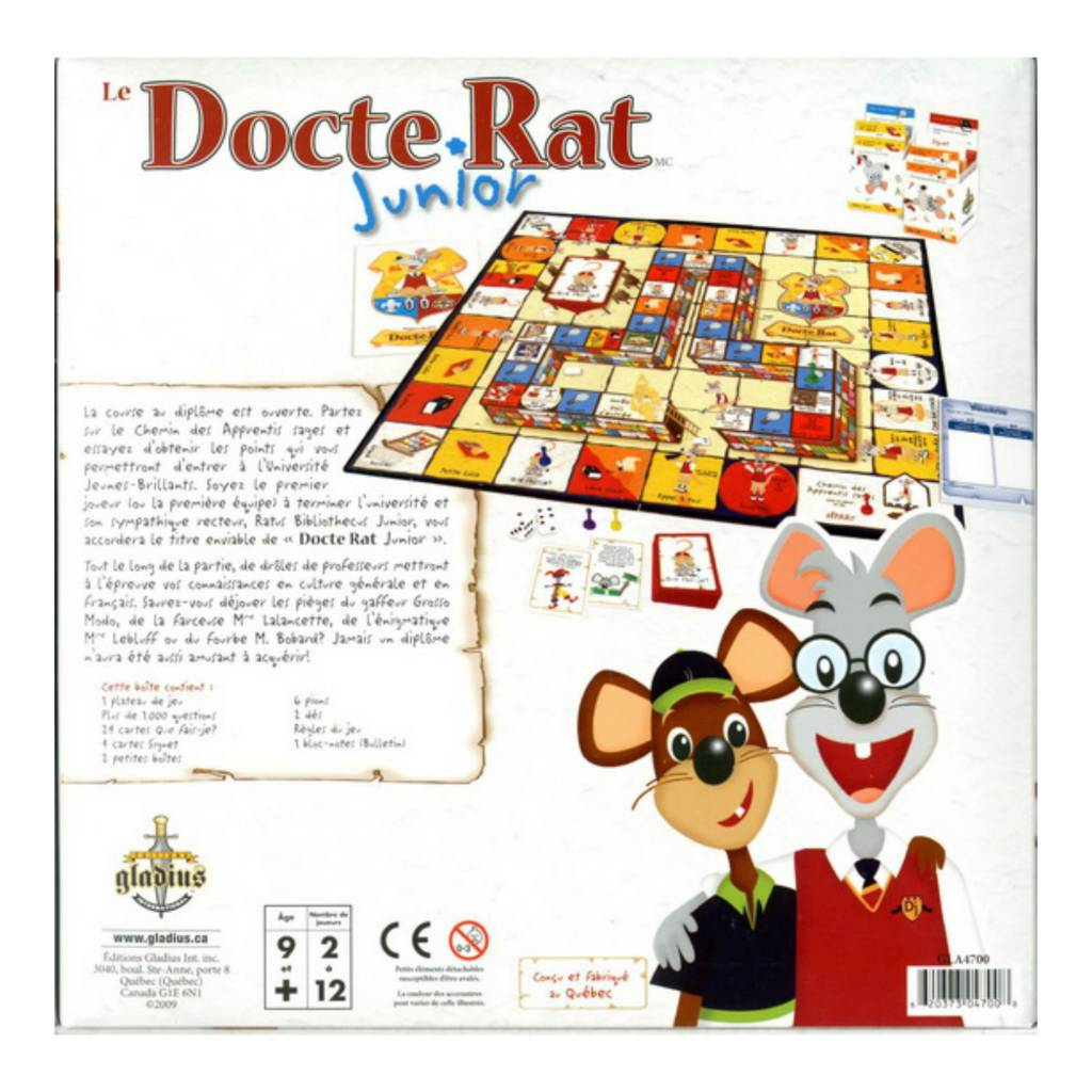 Le Docte Rat Junior