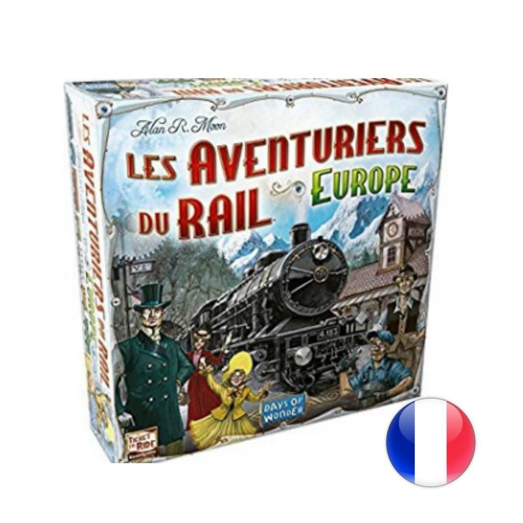 Days of Wonder Les Aventuriers du Rail: Europe