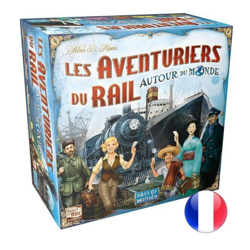 Days of Wonder Les aventuriers du rail : Autour du monde