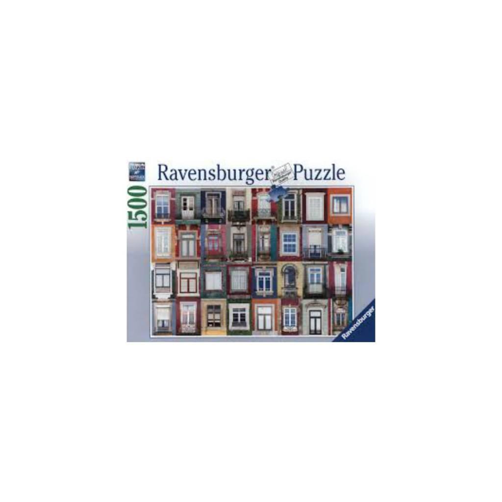 Ravensburger Puzzle 1500: Fenêtres à Porto