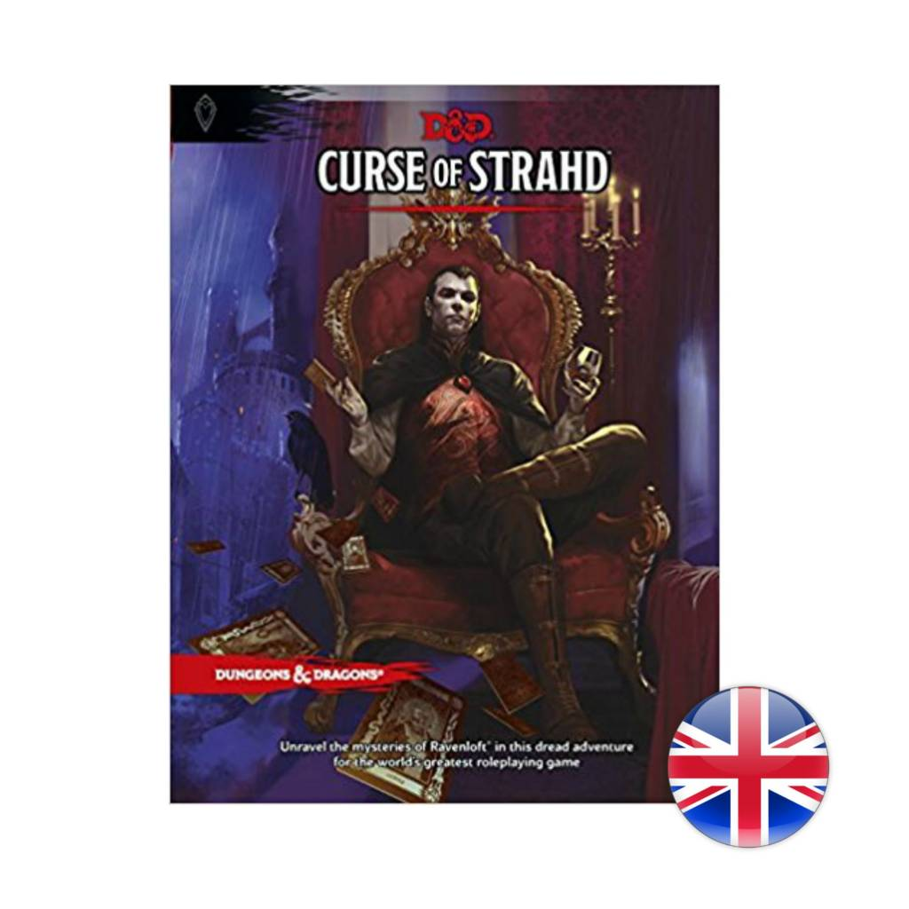 Wizards of the Coast Dungeons & Dragons DnD: Curse Of Strahd