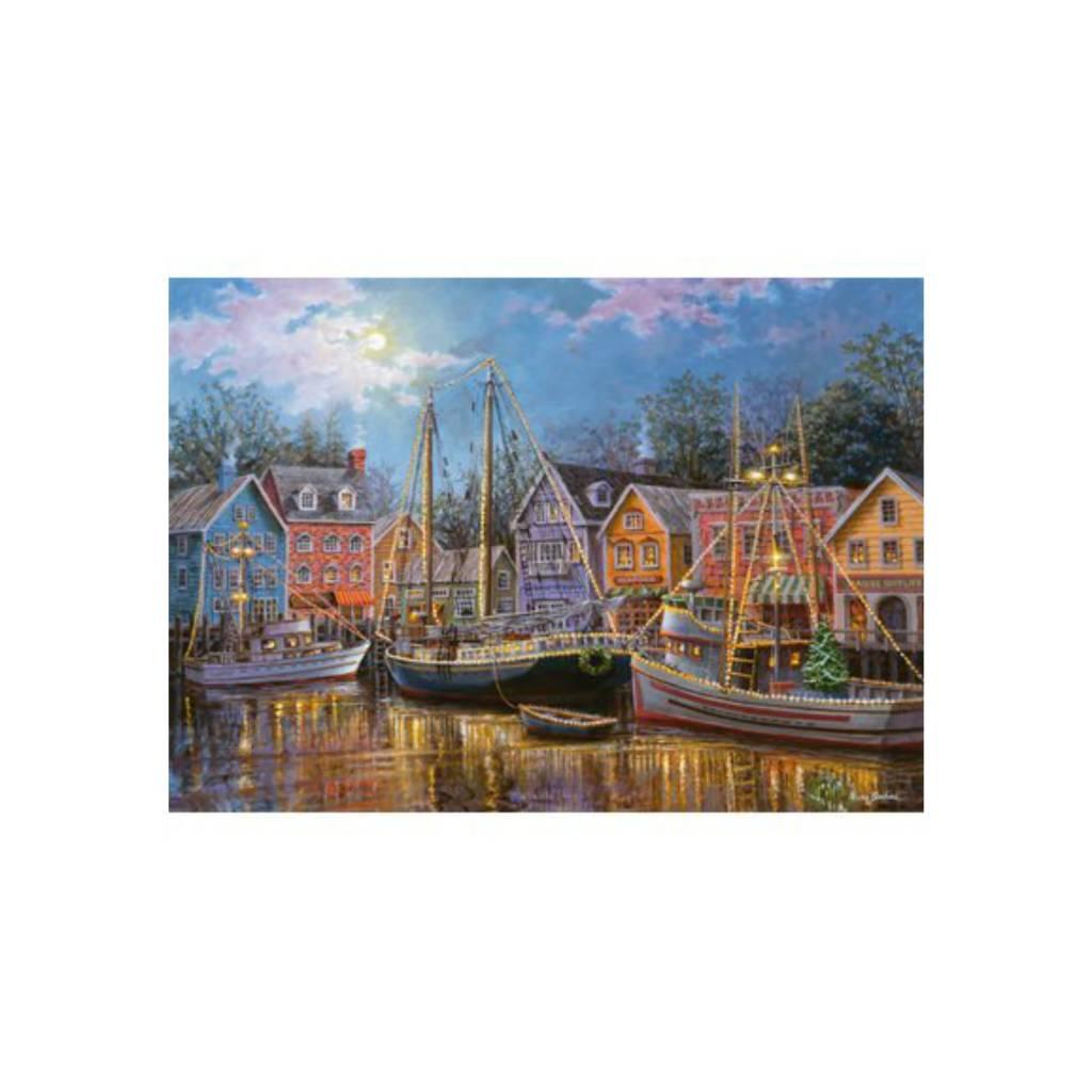 Ravensburger Puzzle 500: Bateaux illuminés / Grand format