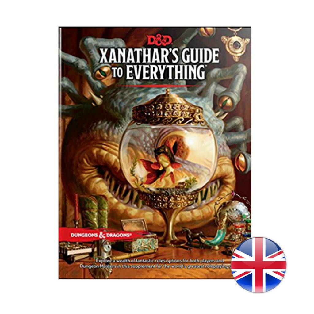 Wizards of the Coast D&D Dungeons & Dragons: Xanathar's Guide to Everything