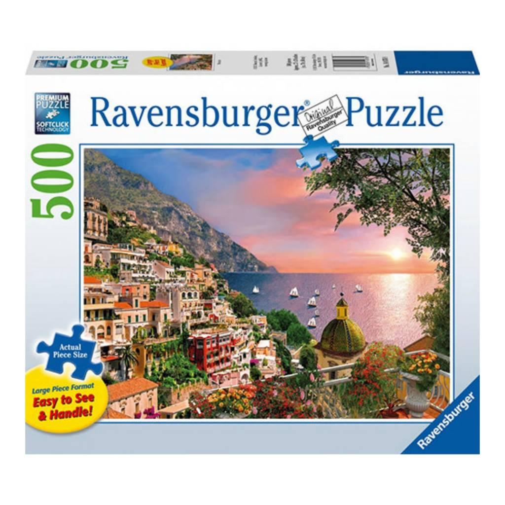 Ravensburger Puzzle 500: Positano / Grand format